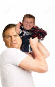 Is Belicheck babying Gronk till Brady Gets back?