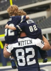 How that #Jasonwitten start work out for ya?