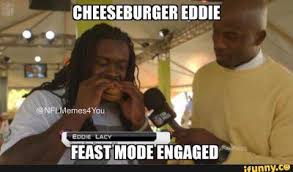 "#SeattleSeahawks from #beastmode to #feastmode — #CheeseburgerEddie to try and ""Fit"" in"