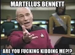 #MartellusBennett or Bust, with #Nelson and #Cobb healthy is there enough action to go around